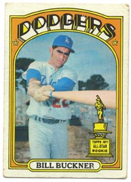 1972 Topps Baseball Cards      114     Bill Buckner